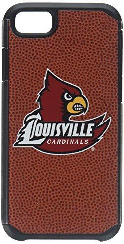 Louisville Cardinals Classic Football Pebble Grain Feel iPhone 6 Case,One Size,Brown - Louisville Cardinals Brown Football