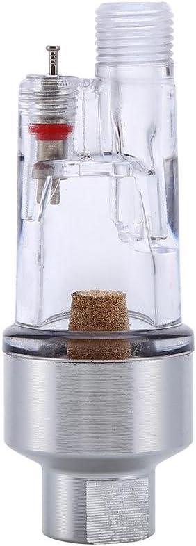 Wasser Airbrush In-Line Luftfilter Wasserabscheider 1//8in Schlauchanschluss Wasser /Öl Abscheider