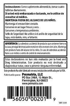 Amazon.com: prematria Vitaminas Prenatales: Health & Personal Care