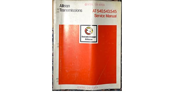allison at545 repair manual