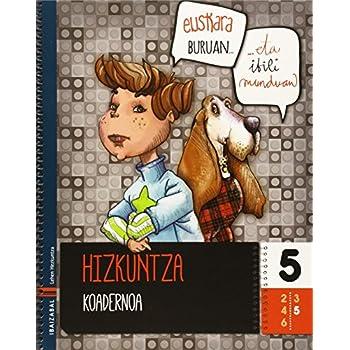 Hizkuntza koadernoa 5 - 9788483949870