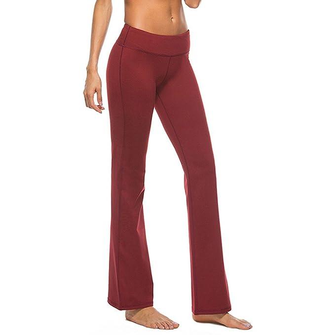 419b560694 SEESUNGM Yoga Pantalones Mujer Pantalones Flojos De Yoga