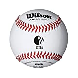 Wilson A1030BUSSSA League Series Baseball (12-Pack), White