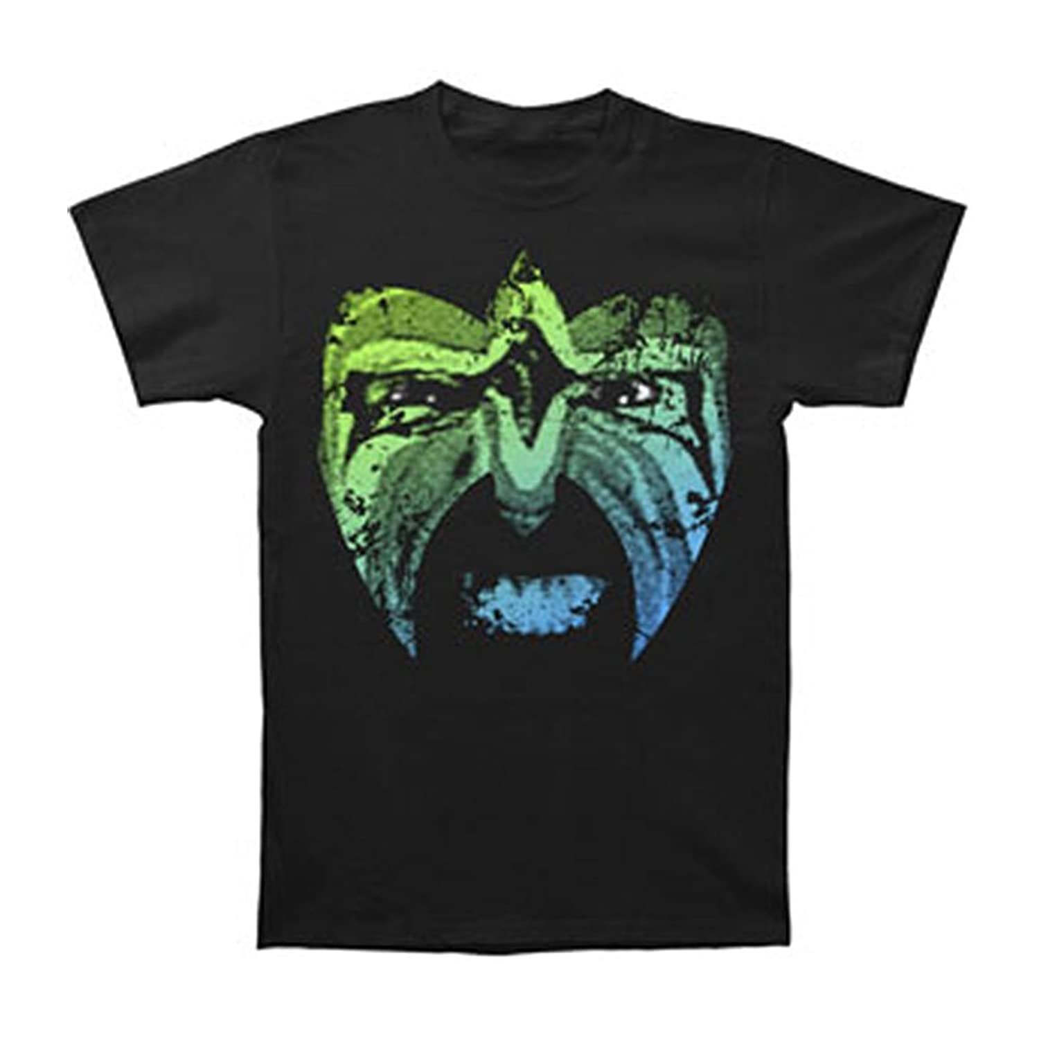 Michaner Walosde Ultimate Warrior Men's Rage Face Slim Fit T-shirt Black