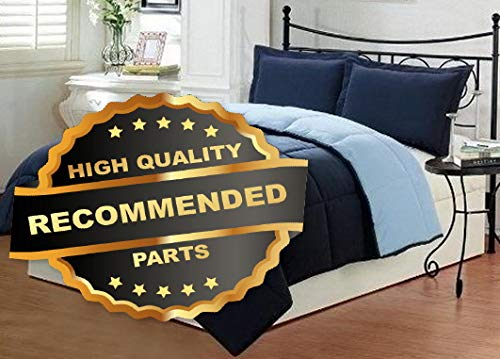 Werrox Goose Down Alternative Luxurious Reversible Comforter Full Queen and King | Twin Size | Quilt Style QLTR-291266157