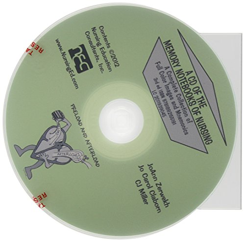A CD of the Memory Notebooks of Nursing, 3rd Ed.