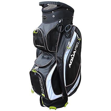 0cb7215ca02c44 Masters Icart 2015 Aquapel Da Uomo, Con Sacca Da Carrello Trolley Da Golf  14-Way: Amazon.it: Sport e tempo libero