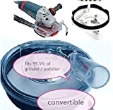 """5"""" & 7"""" Dust Shroud Kit Dry Grinding Dust Cover for Angle Grinder Hand Grinder wet polisher dustless polishing granite marble concrete traertine grnding cup -  Asia Pacific Construction"""
