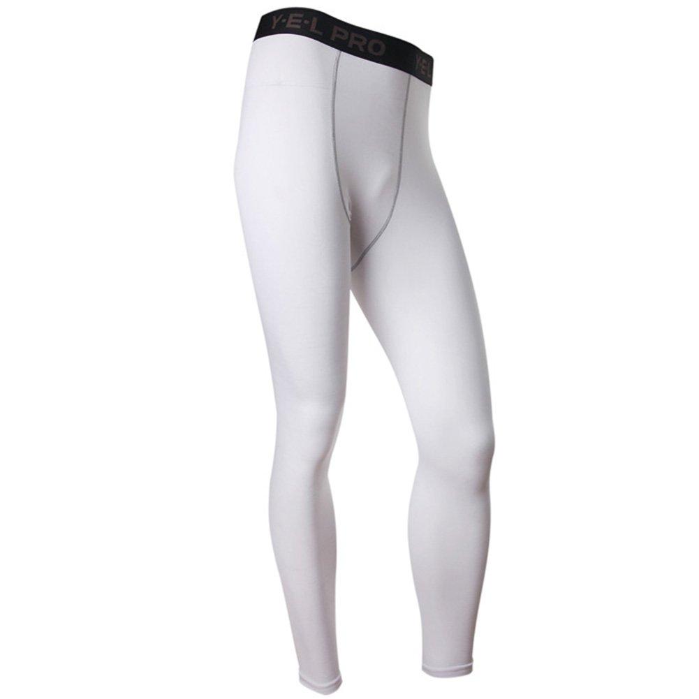 Moresave Mens compressione INTIMO pantaloni ghette strette mutande lunghe