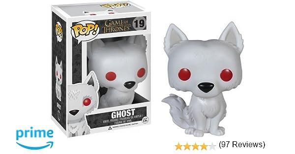 Funko FK3876 Pop! TV: Juego de Tronos- Ghost Fantasma: Amazon.es ...