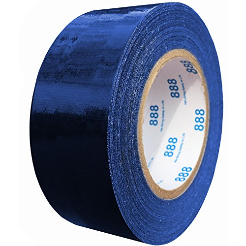 MG888 Navy Blue Colored Duct Tape 1.88 Inches x 60 Yards (Available in Red, Yellow, Green, Gray, Black White) Heavy Duty Tape for Repairs, DIY, Crafts, Indoor Outdoor Use, Multi-Purpose, Waterproof (Blue Duct Tape)