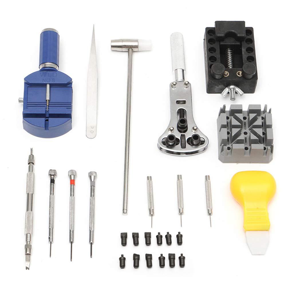Bomcomi 20pcs Professionale di precisione Set di cacciaviti Domestica corredo di Riparazione della vigilanza di Orologio Repair Tool