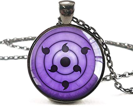 Naruto Shippuden Itachi Uchiha Akatsuki Necklace Cosplay Anime Manga Costume NEW
