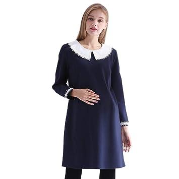 style de mode qualité et quantité assurées design distinctif Robes Vêtements de maternité Automne et Hiver Jupe élégante ...