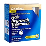 GoodSense Minoxidil Topical Aerosol Foam Hair Regrowth Treatment 12.66 Ounce