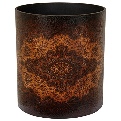 Oriental Furniture Olde-Worlde European Waste Basket by ORIENTAL FURNITURE