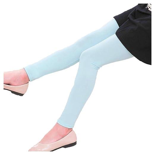 18bc62f6 Baby Kid Children Toddler Girls Classic Solid Girl Leggings Pants (Light  Blue, 3T)