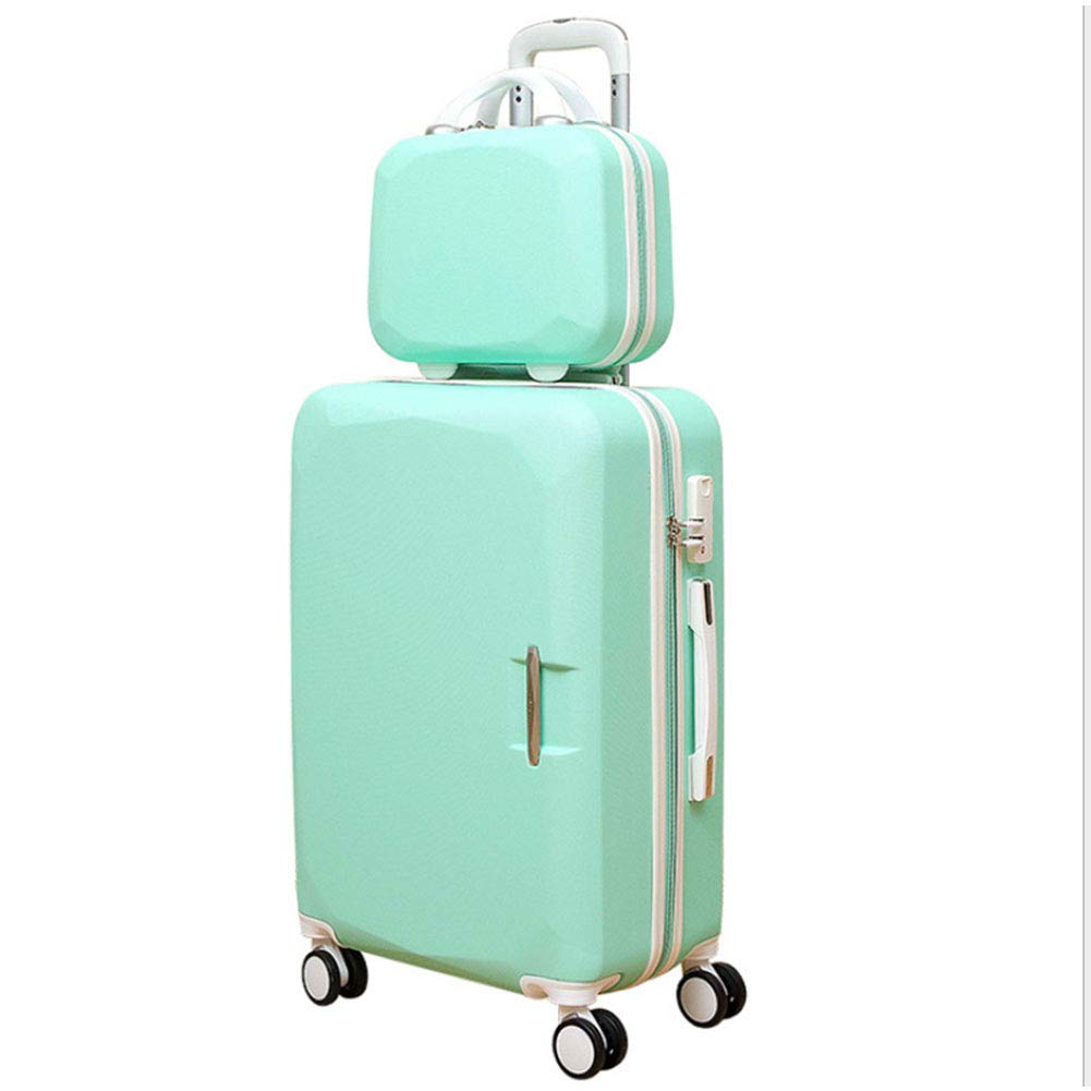 rotatable Pulley,Gold,20 Portable Luggage Large Capacity Suitcase Pure Aluminum JINPENGRAN Travel case
