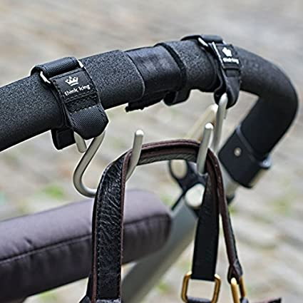 Think King Mighty Buggy Hook for Stroller Rollator Walker Gold Wheelchair