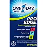 One A Day Men's Pro Edge Multivitamin, Supplement with Vitamins A, C, E, and B-Vitamins for Energy...