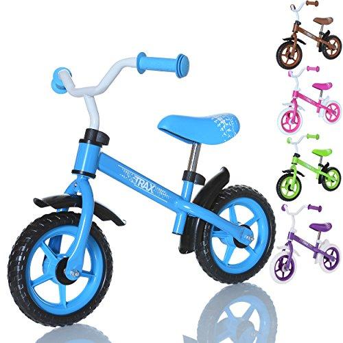 LCP Kids TRAX Kinder Laufrad als Lern Fahrrad ab 2 Jahren - 10 Zoll, Farbe Blau