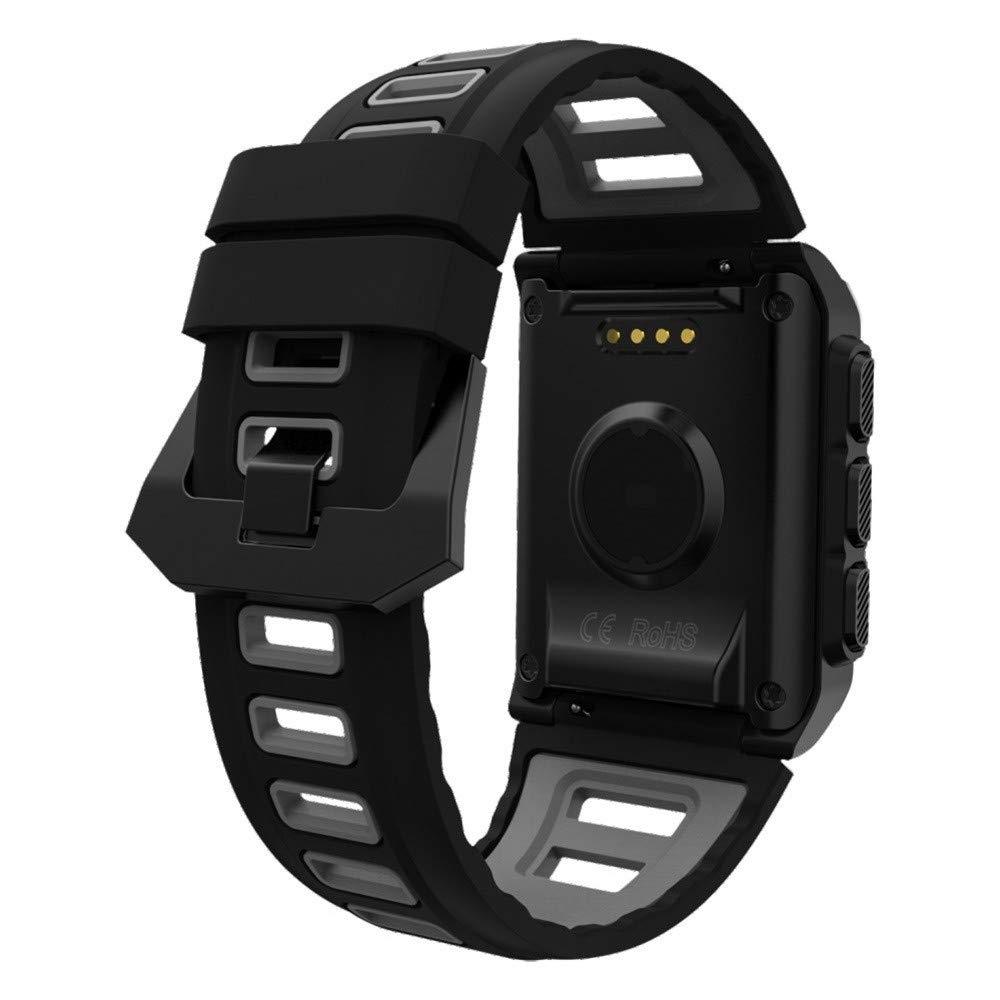 Lovewe Professional IP68 Waterproof Swimming Smart Watch Fitness Tracker Bluetooth GPS Wristband Colorful UI (Gray) by Lovewe_Smart Watch (Image #3)