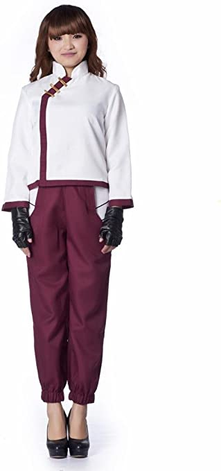 Mtxc Mujer Naruto Cosplay Disfraz Tenten Segundo Niño Tamaño Large ...
