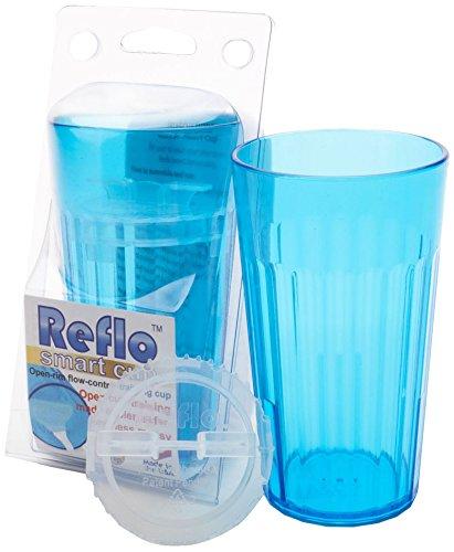 Reflo Smart Cup - Blue - 8-10 oz by Reflo Reflo Ltd RSC22