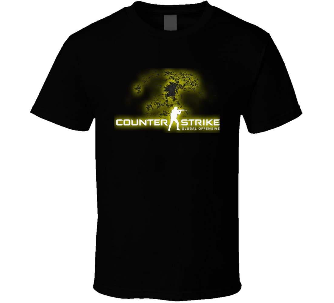 Pengwang Tees Counter Strike Logo Poster Fan Tshirt