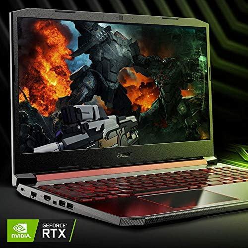 Acer Nitro 5 Gaming Laptop, 9th Gen Intel Core i7-9750H, NVIDIA GeForce RTX 2060, 15.6″ Full HD IPS 144Hz Display, 16GB DDR4, 256GB NVMe SSD, WiFi 6, Waves MaxxAudio, Backlit Keyboard, AN515-54-728C 516itYt 9yL
