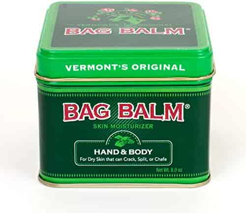 Vermont's Original Bag Balm 8 Ounce Skin Moisturizer for Dry Skin, Cracked Heals, Dry Elbows, Chafing