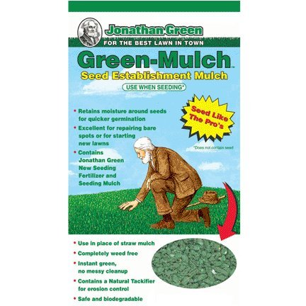 Jonathan Green Green-Mulch Seed Establishment Mulch, 15-Pound-(10944)