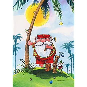 Amazon.com: Box Set of Golf Christmas Card Variety Pack 24 Cards ...