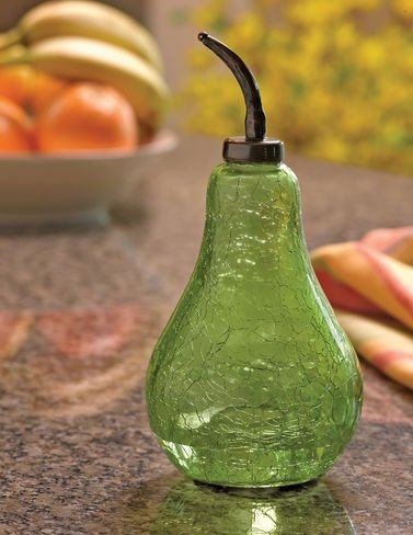 Green Pear Fruit Fly Trap with 3 Lures
