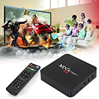 2017 OzTeck MXQ Pro Latest Android TV Box Quad Core 17.3 Android 5.1, 64Bit Amlogic S905 Quad Core, H.265 4K Decoding