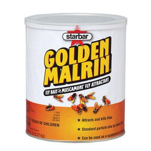 Farnam Home and Garden 3006481 Starbar Golden Malrin Fly Bait, 5-Pound - Golden Malrin Fly Bait
