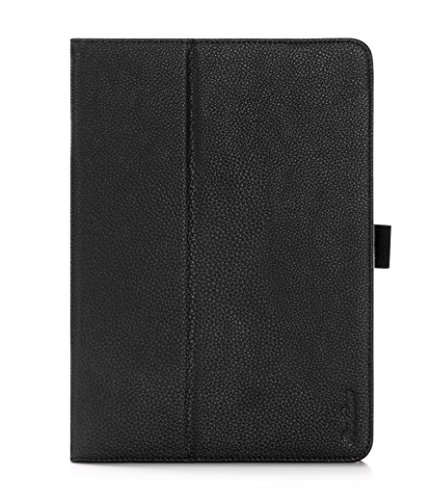 - ProCase Samsung Galaxy Tab S2 9.7 Case - Stand Folio Cover Case for Galaxy Tab S2 Tablet (9.7 inch, SM-T810 T815 T813), with Hand Strap, auto Sleep/Wake (Black)
