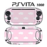Skin Decal Cover Sticker for Sony PlayStation PS Vita (PCH-1000) - Pink Cloud
