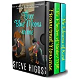 Three Blue Moons in One (A Cozy Crime, comedy, mystery box set): Books 1 to 3 in one place