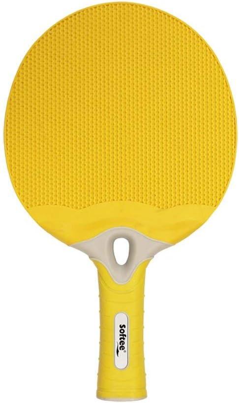 Raqueta Tenis DE Mesa Softee Energy - Color Amarillo