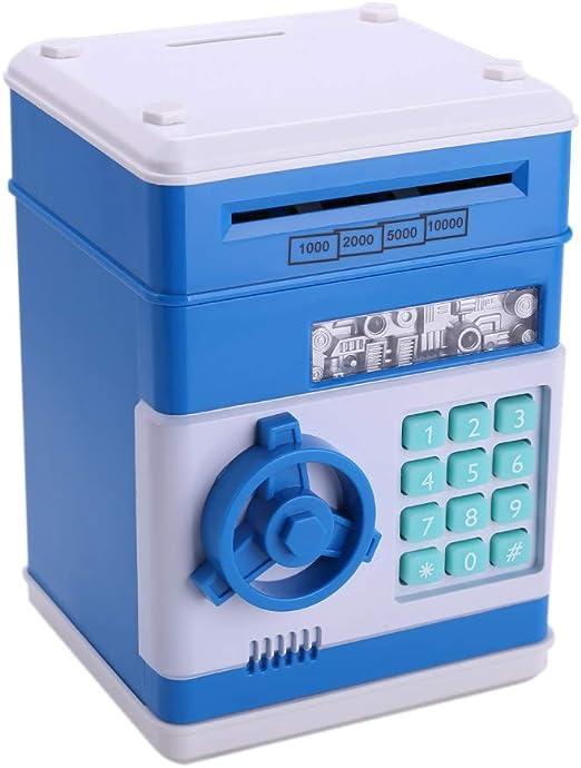 ATM - Hucha con contraseña para niños, caja electrónica automática ...