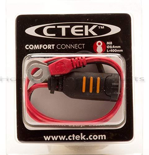 516ivhP5ZCL CTEK MXS 5.0 Batterieladegerät Mit Automatischer Temperaturkompensation, 12V 5.0 Amp (EU Stecker)