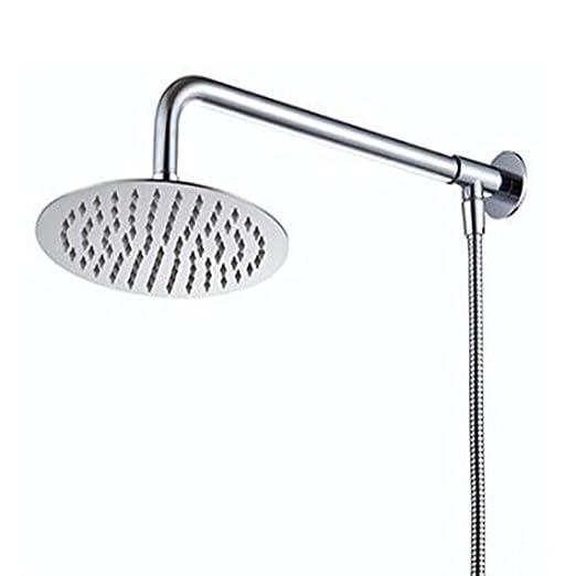 35 opinioni per Hiendure® 40 centimetri Soffione doccia Con braccio doccia Doccia Tubo Acciaio