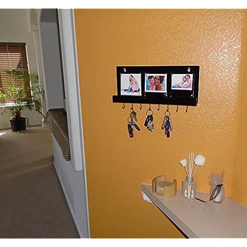 good Key Holder Decorative Wall Mount Key Rack Organizer with ...