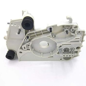Caja del Motor del cárter con Ajuste del Tensor de la Cadena para motosierras STIHL MS170