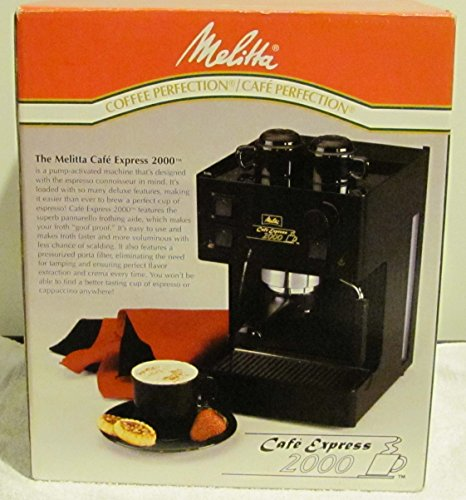 The Melitta Cafe Express 2000 Model K7953 (Melitta Cafe Cappuccino Maker compare prices)