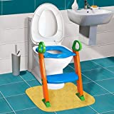 Kids Potty Training Seat with Step Stool Ladder for Child Toddler Toilet Chair: more info