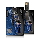 Dale Earnhardt Jr 8GB Credit Card Style USB Flash Drive officially licensed by NASCAR Slim Thin Sleek Flip Out Plug by keyscaper®