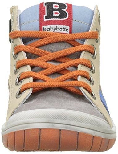 babybotte Artistreet, Zapatillas Altas para Niños Marrón