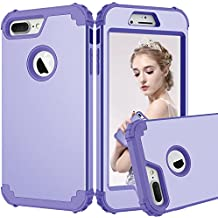 iPhone 7 Plus Case, Jeccy Slim Hybrid Ultra Heavy Duty Three Layer Shockproof Armor Defender Full-Body Protective Case, PC+Silicone Skin Cover for Apple iPhone 7 Plus 5.5 inch (2016)